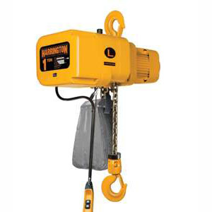 1 Ton, 3-Phase, 14 FPM Lifting Speed, Top Hook