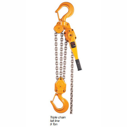 Harrington LB Lever Hoist - 9 Ton - 5'