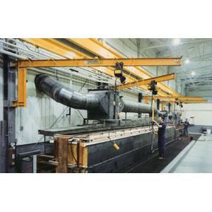 3 Ton, Wall Cantilever Jib Crane, 12'-0 in. Span.