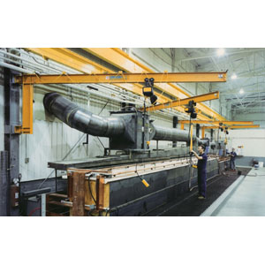 5 Ton, Wall Cantilever Jib Crane, 18'-0 in. Span.
