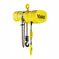 1/4 Ton, 1 phase, 64 FPM lifting speed, top hook suspension