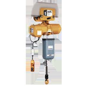 AccoLift 1 Ton, 27 FPM Lifting Speed, Push Trolley